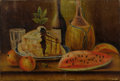 Fine Art - Painting, American:Other , GROUP OF THREE AMERICAN PAINTINGS... (Total: 3 Items)