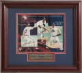 Autographs:Photos, Atlanta Braves Cy Young Award Winners Signed Photograph. ...
