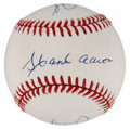 "Autographs:Baseballs, ""The Kings"" Multi-Signed Baseball with Ryan, Aaron and Rose...."