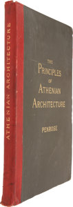 Books:Non-fiction, Francis Cranmer Penrose. An Investigation of the Principles ofAthenian Architecture. London: Macmillan & Co., 1...