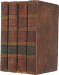 Books:Non-American Editions, Robert Burns. The Works of Robert Burns with an Account of HisLife, and A Criticism On His Writings. London: T. Cad...(Total: 4 Items)