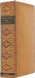 Books:First Editions, G. Muir Mackenzie and A. P. Irby. Travels in the SlavonicProvinces of Turkey-in-Europe. London: Bell and Daldy, 186...