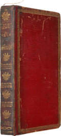 Books:Non-American Editions, Group of Seven Almanacs in one Bound Volume. London: Various Publishers, 1834. Small octavo....