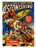 Golden Age (1938-1955):Science Fiction, Astonishing #5 (Atlas, 1951) Condition: GD/VG....