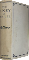 Books:Signed Editions, Ellen Terry. The Story of My Life. London: Hutchinson & Co., 1908. First limited edition. Inscribed by Ellen T...