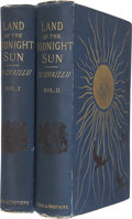Books:First Editions, Du Chaillu. The Land of the Midnight Sun. New York: Paul B.Harper & Brothers, 1881. First edition. Two volumes.... (Total:2 Items)