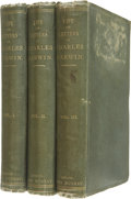 Books:First Editions, Charles Darwin. The Life and Letters of Charles Darwin.London: John Murray, 1888. First edition. Three octavo v... (Total:3 Items)