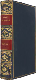 Books:First Editions, J[ames] Allanson Picton. Oliver Cromwell. London: Cassell,Petter, Galpin & Co., 1882. First edition. Thick octa...