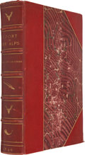 Books:First Editions, W. A. Baillie-Grohman. Sport in The Alps, in the Past andPresent. London: Adam & Charles Black, 1896. First edi...