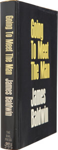 Books:First Editions, James Baldwin. Going to Meet the Man. New York: Dial Press,1965. First edition. Octavo. ...