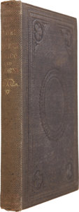 Books:First Editions, Luther M. Schaeffer. Sketches of Travels in South America,Mexico and California. New York: James Egbert, 1860. Firs...