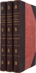 Books:First Editions, Madame de Remusat. Memoirs of Madame de Remusat 1802-1808.New York: D. Appleton and Company, 1880.... (Total: 3 Items)