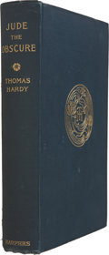 Books:First Editions, Thomas Hardy. Jude the Obscure. New York: Harper &Bros., 1896....