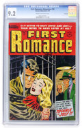 Golden Age (1938-1955):Romance, First Romance #26 File Copy (Harvey, 1954) CGC NM- 9.2 Cream to off-white pages....