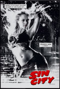 "Movie Posters:Crime, Sin City (Dimension, 2005). One Sheet (27"" X 40"") DS Advance.Jessica Alba Style. Crime.. ..."