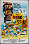 "Movie Posters:Animated, The Smurfs and the Magic Flute (Atlantic Releasing, 1983). OneSheet (27"" X 41""). Animated.. ..."
