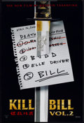 "Movie Posters:Action, Kill Bill: Vol. 2 (Miramax, 2004). One Sheet (27"" X 40"") DS List Style. Action.. ..."