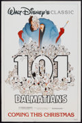 "Movie Posters:Animated, 101 Dalmatians (Buena Vista, R-1985). One Sheet (27"" X 41"")Advance. Animated.. ..."