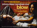"Movie Posters:Crime, Blow (New Line, 2001). British Quad (30"" X 40"") and One Sheet (27"" X 40""). Crime.. ... (Total: 2 Items)"
