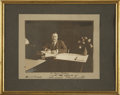 Autographs:U.S. Presidents, Theodore Roosevelt Photograph Inscribed as president and datedJanuary 21, 1909, six weeks before leaving office. With a rel...