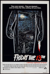 "Friday the 13th (Paramount, 1980). One Sheet (27"" X 41""). Horror"