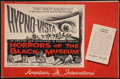 """Movie Posters:Horror, Horrors of the Black Museum Lot (American International, 1959). Pressbooks (2) (Multiple Pages, 11"""" X 17"""" and 11"""" X 14""""). Ho... (Total: 2 Items)"""