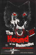 "Movie Posters:Mystery, The Hound of the Baskervilles Lot (United Artists, 1959). Pressbooks (2) (Multiple Pages, 11"" X 17"")). Mystery.. ... (Total: 2 Items)"