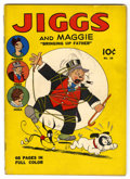 Golden Age (1938-1955):Humor, Four Color (Series One) #18 Jiggs and Maggie (Dell, 1941) Condition: VG....