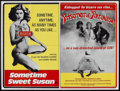 """Movie Posters:Adult, Sometime Sweet Susan/Prisoner of Paradise Combo (Unknown, 1980). British Quad (30"""" X 40""""). Adult.. ..."""