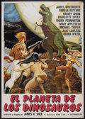"""Movie Posters:Science Fiction, Planet of Dinosaurs (Cineworld, 1978). Argentinean Poster (27.5"""" X 39""""). Science Fiction.. ..."""