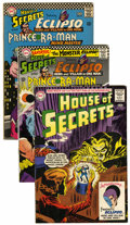 Silver Age (1956-1969):Mystery, House of Secrets Group (DC, 1961-66) Condition: Average FN....(Total: 4 Comic Books)