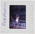 Basketball Collectibles:Others, Pete Maravich Color Slide. ...