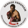 """Boxing Collectibles:Memorabilia, George Foreman Pin from the Movie """"Ali"""". ..."""