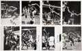 Basketball Collectibles:Photos, Julius Erving Signed and Unsigned Photographs Lot of 8. ...