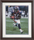 Football Collectibles:Photos, Terrell Davis UDA Signed Photograph. ...