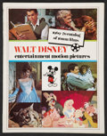 "Movie Posters:Animated, Walt Disney Lot (Buena Vista, 1970s-1980s). Catalog (MultiplePages, 8.5"" X 11""), Pressbooks (5) (Multiple Pages and Sizes),...(Total: 9 Items)"