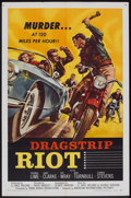 "Movie Posters:Drama, Dragstrip Riot (American International, 1958). One Sheet (27"" X 41""). Drama.. ..."