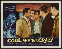 """The Cool and the Crazy (American International, 1958). Lobby Cards (6) (11"""" X 14""""). Bad Girl. ... (Total: 6 It..."""