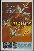 """Movie Posters:War, Jet Attack (American International, 1958). One Sheet (27"""" X 41"""")and Lobby Cards (2) (11"""" X 14""""). War.. ... (Total: 3 Items)"""