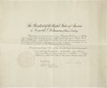 Autographs:U.S. Presidents, Calvin Coolidge Document Signed as president.... (Total: 2 Items)