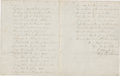 "Autographs:Military Figures, [George Washington, Ulysses S. Grant, and William T. Sherman]EdwardD. Townsend Autograph Document Signed ""E. D. Townsend/..."