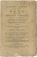 Books:Early Printing, A Dissertation on the Gout, and all Chronic Diseases, JointlyConsidered, As proceeding from the same Causes; Whattho...