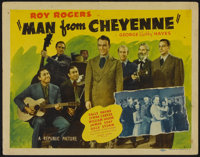 """The Man from Cheyenne (Republic, 1942). Lobby Card Set of 8 (11"""" X 14""""). Western. ... (Total: 8 Items)"""