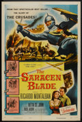 "Movie Posters:Adventure, The Saracen Blade (Columbia, 1954). One Sheet (27"" X 41"").Adventure.. ..."