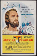 "Movie Posters:Drama, Day of Triumph Lot (Century Films, 1953). One Sheets (2) (27"" X 41""). Drama.. ... (Total: 2 Items)"