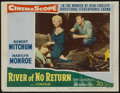 "Movie Posters:Adventure, River of No Return (20th Century Fox, 1954). Lobby Cards (3) (11"" X14""). Adventure.. ... (Total: 3 Items)"