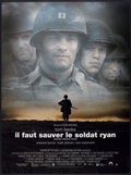 "Movie Posters:War, Saving Private Ryan (Paramount, 1998). French Grande (47"" X 63"")and French Petite (15.5"" X 21""). War.. ... (Total: 2 Items)"