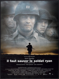 "Saving Private Ryan (Paramount, 1998). French Grande (47"" X 63"") and French Petite (15.5"" X 21""). Wa..."