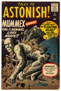 Silver Age (1956-1969):Mystery, Tales to Astonish #8 (Marvel, 1960) Condition: VG/FN....