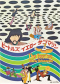 "Movie Posters:Animated, Yellow Submarine (United Artists, 1968). Japanese B2 (20"" X 29"")....."